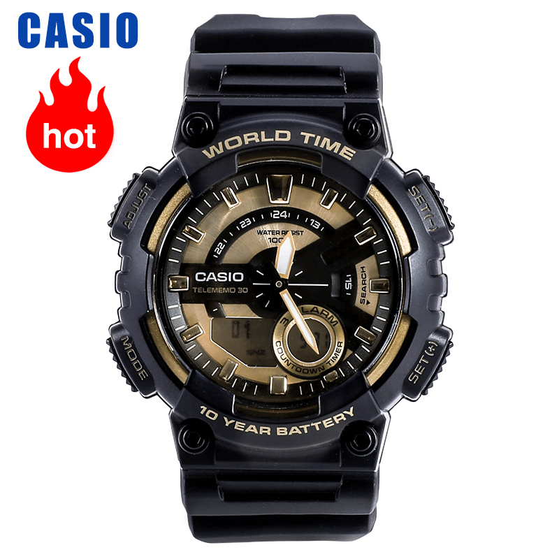 Casio Watch Men's Casual Student Sports Watch AEQ-110BW-9A