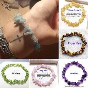 Pulseiras de pedra natural pulseiras para mulheres menina artesanal moda jóias de cristal tigereye moonstone charme pulseira presente quente
