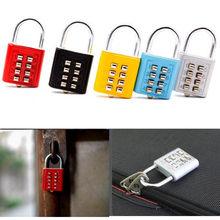 10 Digit Push Button Combination Padlock Zinc Alloy Anti-theft Digit Cupboard Cabinet Locker Password Locks Outdoor Gym Safely
