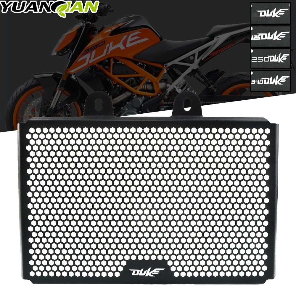 For KTM duke 125 DUKE125 2017 2018 2019 Motorcycle Accessories CNC Engine Radiator Bezel Grille Guard Cover Protector Grill image