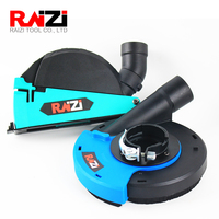 Raizi 5 inch/125 mm Universal cutting grinding dust shroud kit cover tools for angle grinder