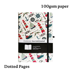 Image 1 - Sail A5 Dotted NotebookDot Grid Journal Lighthouse Hard Cover Elastic Band Travel Diary  Planner