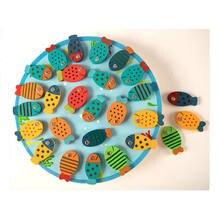 Деревянные модели рыб 26 шт игрушки детская мудрость раннее