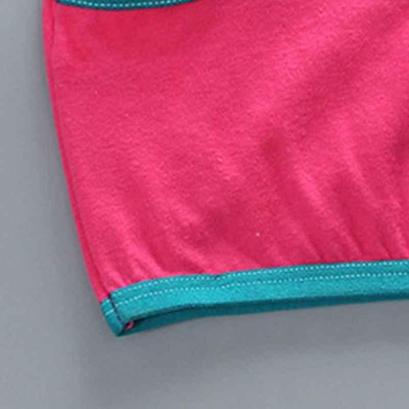Junior puberté filles sous-vêtements en coton soutien-gorge contraste bonbons couleur épissage garniture Bralette enveloppé poitrine sans fil nœud papillon haut court 8-