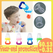 Silicone Baby Pacifier Infant Nipple Soother Toddler Kids Pacifier Feeder For Fruits Food Baby Feeding Pacifier Fruit Nipple(China)
