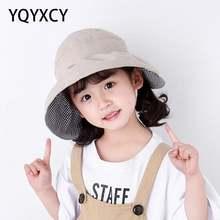 Летние шляпы для девочек женские пустые топы солнцезащитный