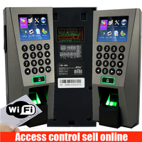 ZK F18 WIFI Fingerprint Access Control ZKteco F18 adms Fingerprint Time Attendance Door controller With POWER supply