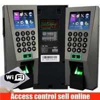 ZK F18 WIFI Fingerprint Access Control ZKteco F18 adms Fingerprint Time Attendance Door controller With POWER supply