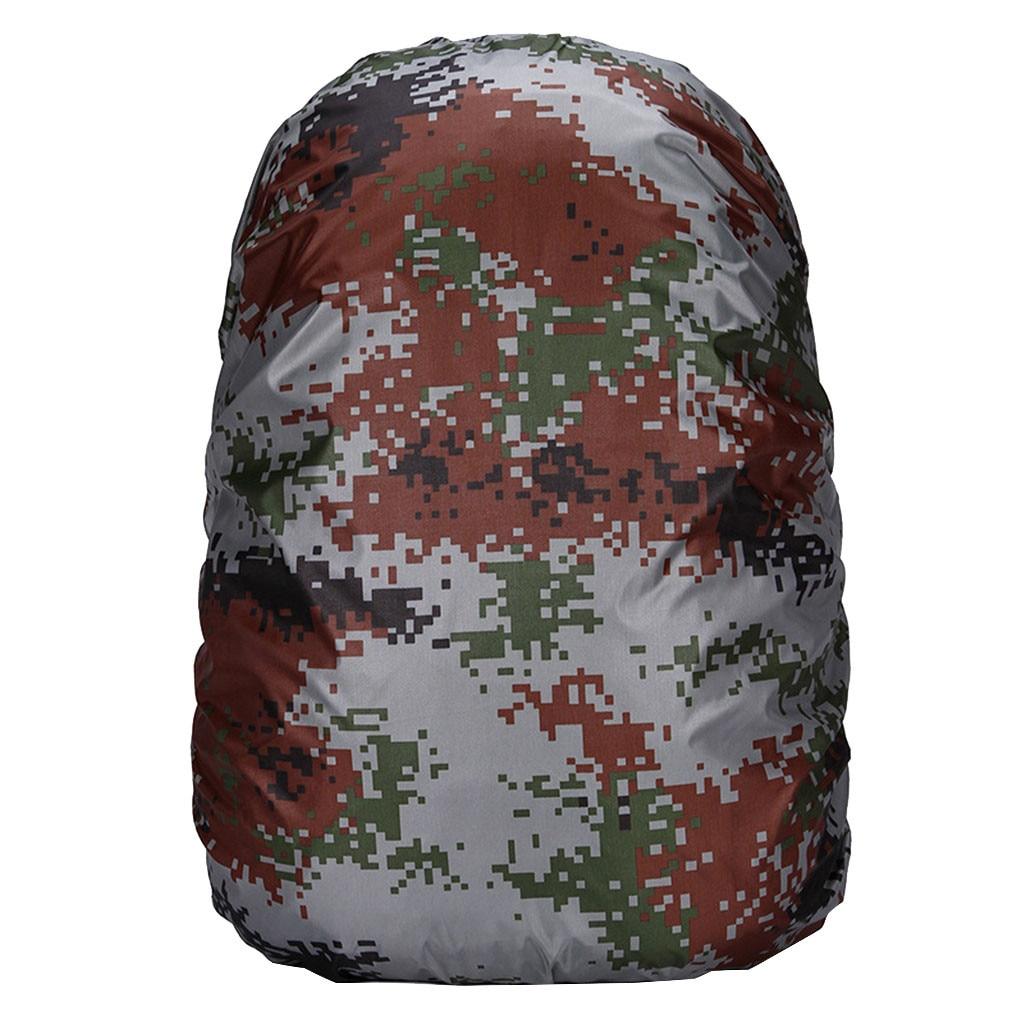 1 Pcs 35L Waterproof Dust Rain Cover Portable Backpack Travel Camping Rucksack Bag Rainproof Backpack Cover ?????? ???????