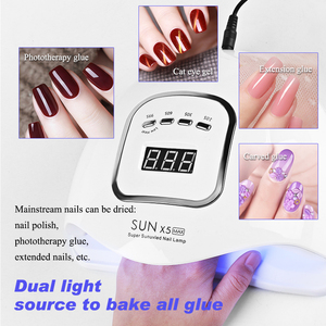 80W Sun X5 Max UV LED Nail Lam