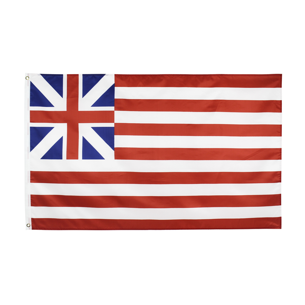 Hanging <font><b>90*150</b></font> CM Grand Union Flag For Decoration image