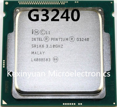 Intel Processor Processor G3240 LGA1150 22 Nanometers Dual-Core 100% Working Properly Desktop Processor