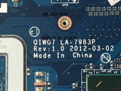 Disponible. Nouvelle carte mère G780 QIWG7.LA-7983P. Pour carte mère LENOVO G780, carte principale UMA. CPU CORE I3 I5 I7