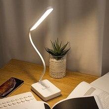 Pode ser escurecido luz da mesa lâmpada de mesa 3 modos toque dobrável lâmpada mesa moderna luz cabeceira led luzes para estudo escritório