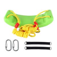 Child Outdoor Garden Tree Swing Rope Seat Molded For Kids PVC Swings Belt Seat Toys Hanging Kindergarten Playground Gifts