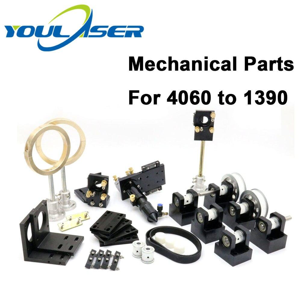 CO2 Laser Mechanical Components Metal Transmission Hardware Parts Laser Head Set Engraving Cutting Machine Equipment