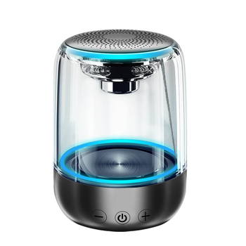 Bluetooth głośniki bezprzewodowe głośniki wodoodporne Stereo kolumna przenośny głośnik romantyczny lampa kolorowa wsparcie TF karty z mikrofonem tanie i dobre opinie Liniowe Audio Przenośne Baterii Z tworzywa sztucznego Pełny Zakres Funkcja telefonu NONE 20 hz-2 khz Portable Bluetooth speaker