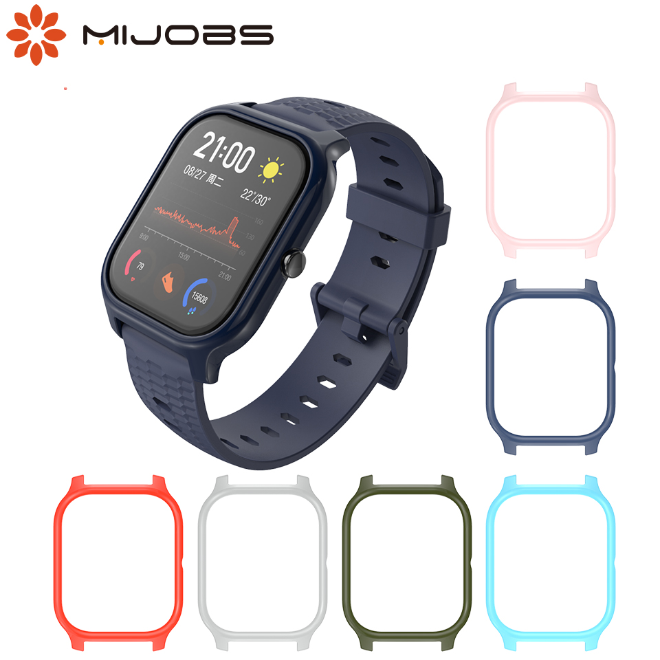 Protective Case For Amazfit GTS TPU Frame Bumper Cover For Xiaomi Huami Amazfit GTS Smart Watch Bracelet Plastic PC Protector
