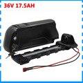 750 Вт 36В 17ач батарея для велосипеда 500 Вт 36В 10ач литиевая аккумуляторная батарея INR18650 35E 18650 с USB портом 30A BMS 42 в 2A зарядное устройство