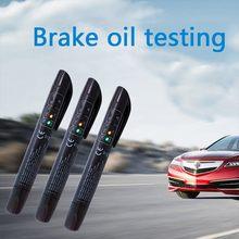 Универсальные автомобильные аксессуары тестер тормозной жидкости диагностические инструменты точное качество масла 5 светодиодов автомо...