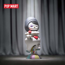 POPMART Pucky Circus Toys figure Blind box birthday Gift free shipping(China)