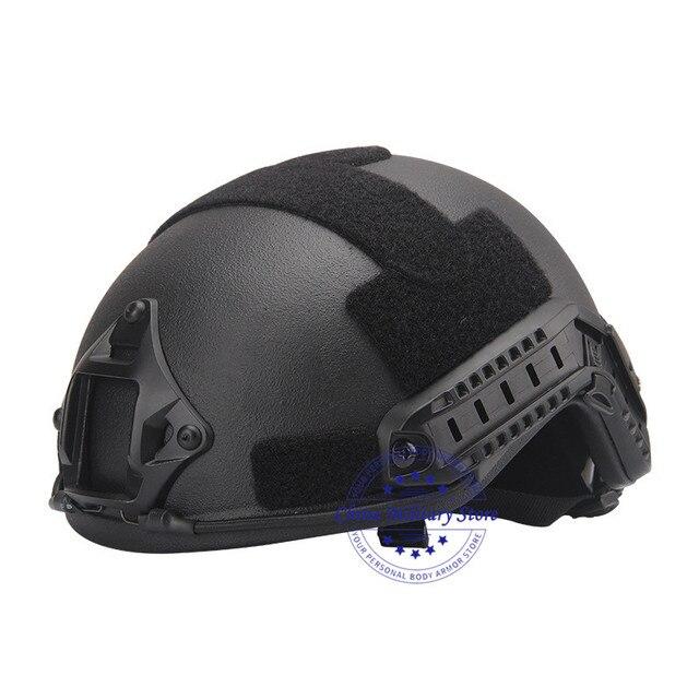 NIJ IIIA Aramid Military FAST Ballistic Combat Helmet US Standard For Police Guard Safety Protection Training