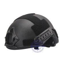 NIJ IIIA Aramid casco militar de combate rápido, balístico, estándar US, para guardia de policía, protección de entrenamiento