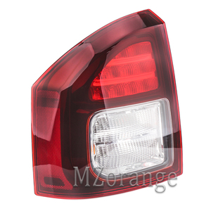 Image 5 - Rear Tail light For Jeep Compass 2014 2015 2016 Tail Stop Brake Warning Lights Car Parts Rear Turn Signal Fog Lamp Car Supplies