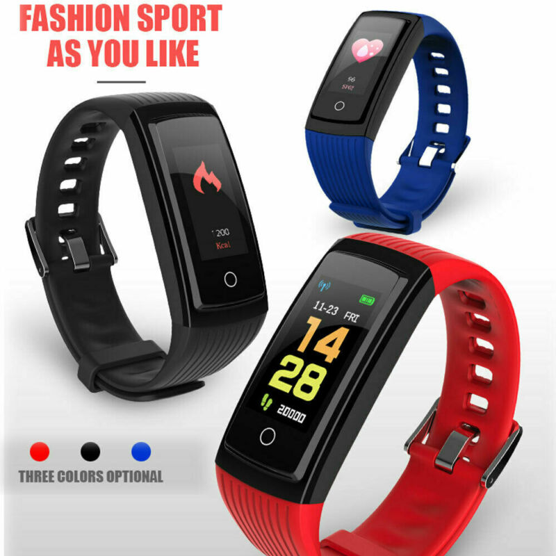 V5S Smart Watch Bracelet Women Men Sport Activity Tracker Wristband Health Waterproof Fitness Smart Watch For Android IOS