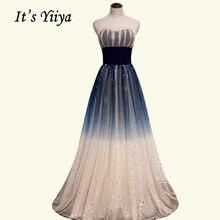 Вечерние платья it's yiiya br516 без бретелек плиссированное