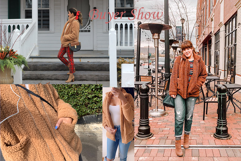 H66992e3c8e554c56b7373f40b5dea43fC Autumn Winter Faux Fur Coat Women 2020 Casual Warm Soft Zipper Fur Jacket Plush Overcoat Pocket Plus Size Teddy Coat Female XXXL