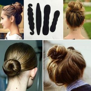 Multi-style Women Hair Twist Styling Clip Stick Bun Maker DIY Hair Braiding Tools Hair Accessories Braider DIY Hairstyle