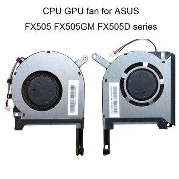 Computer Fans Graphics card for ASUS TUF Gaming FX505 GM FX505GE FX505DT GPU CPU Cooling Fan new 13NR00S0M11111 13NR00S0M12011