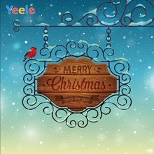 Yeele Christmas Party Photocall Snow Bird Beauty Photography Backdrops Personalized Photographic Backgrounds For Photo Studio