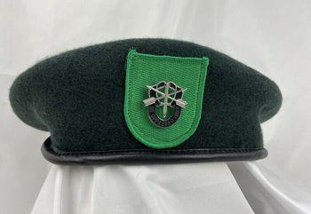 Armia usa 9ST siły specjalne grupa zielony beret US siły specjalne SF MOTTO odznaka tanie i dobre opinie