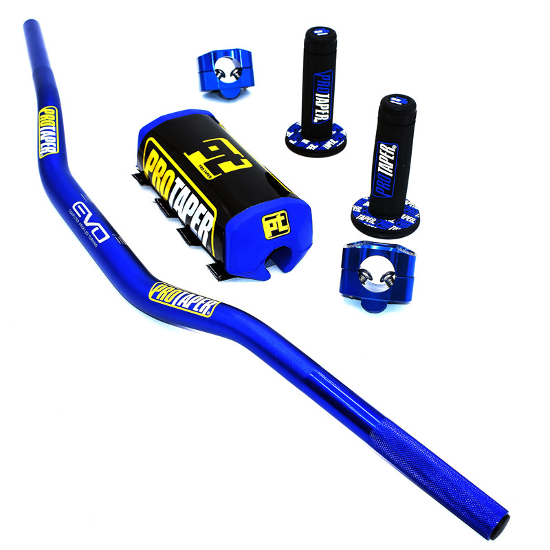 Image 4 - Handlebar For PRO Taper Pack Bar 1 1/8 Handle bar Pads Grips Pit  Pro Racing Dirt Pit Bike Motorcycle CNC 28.5mm AdapterHandlebar   -