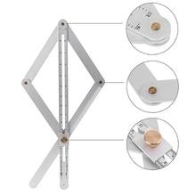 Конический и угловой транспортир, для многоугольного измерительного инструмента для деревообрабатывающего гониометра, квадратная линейка, цифровой угломер