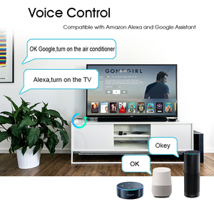 Image 4 - Smart Life domotique télécommande universelle WIFI + IR contrôle climatisation TV travail avec Google Assistant Alexa Siri
