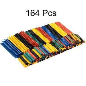 Zestaw termokurczliwych rur termokurczliwych ochrona środowiska dla iphone kabel protector kabel usb wire organizer winder 164/530pcs