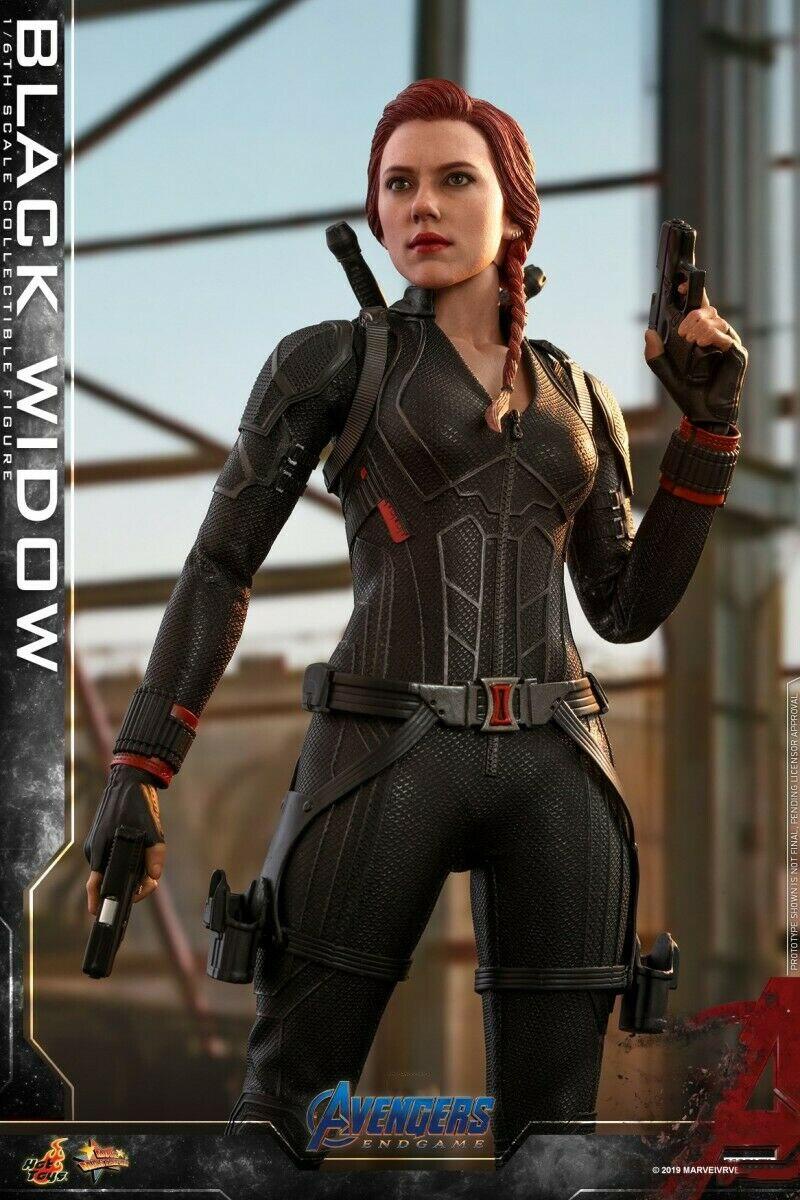 Hot Speelgoed MMS533 1/6 Avengers 4 De Final Battle Natasha Romanoff Zwarte Weduwe Speelgoed - 6