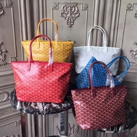 New Genuine Leather Single Shoulder Bag Lady Fashion Zipper Shopping Bag Medium Size In 2019 High Quality Women Tote Bag