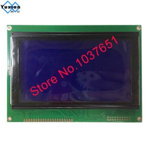 Image 2 - free ship 1pcs 5.1inch 240128  lcd display moudle blue  LCM240128A V3.0 T6963C UCI6963 144*104mm