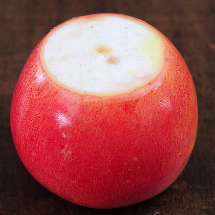 Vela con forma de manzana 4