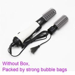 Profesjonalny elektryczny lokówka do włosów rolki szczotka do loków obracanie grzebień suszarka do włosów 2 w 1 fryzjer narzędzia do stylizacji Suszarki do włosów    -