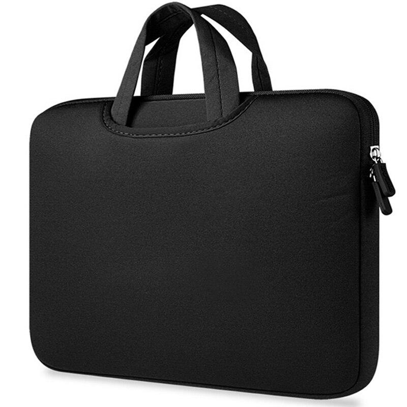 BinFul Portable Ultrabook Notebook Soft Sleeve Laptop Bag Case Cover For MacBook Air Pro Retina 11 12 13 14 15 15.6 Handlebag