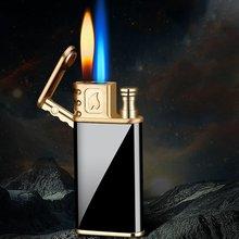 Волшебное Пламя металлические газовые зажигалки сигареты jet