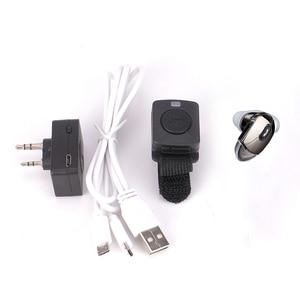 Image 5 - Walkie Talkie Bluetooth Headset K/M Type Mini Earphone Handheld Two Way Radio Wireless Headphones For Motorola Baofeng 888S UV5R