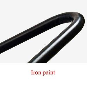 Image 3 - 4 יח\חבילה שולחן רגליים מתכת סיכת ראש ריהוט Ndustrial בסגנון פלדה מראש חורים שנקדחו לצורך התקנה קלה, 415mm