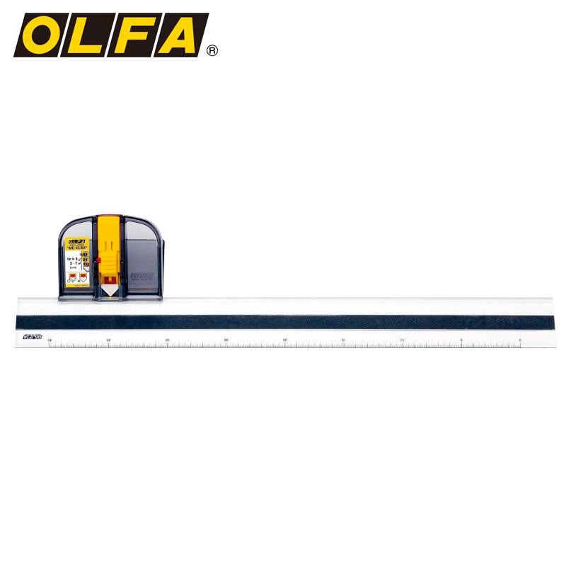 OLFA rahmen spezielle messer, 45 grad winkel schneiden rahmen messer, 2 stück von eingefasst rand, 1 lineal MC 45 - 2