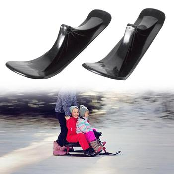 Ski Sleigh Accessories Children's Dual-use Ski Two-in-one Scooter Two Wheels Snow Scooter Ski colin winnette haints stay